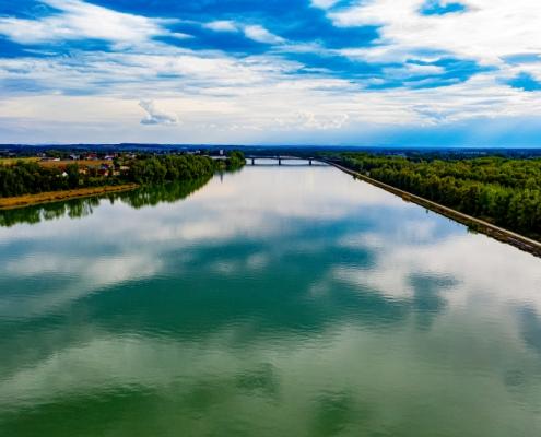 Donau Luftbild