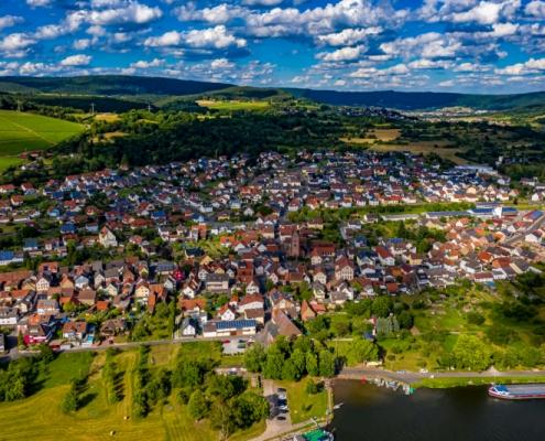Dorfprozelten Luftbild