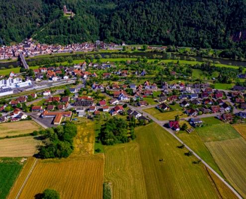 Kirschfurt Luftbild