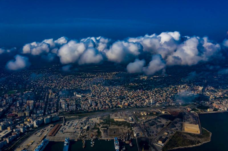Durres - Luftbilder