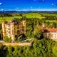 Schloss Hohenschwangau Luftbild