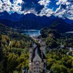 Luftbild Schloss Neuschwanstein